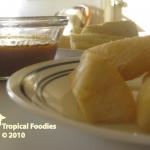 Fried Yuca Manioc Frit