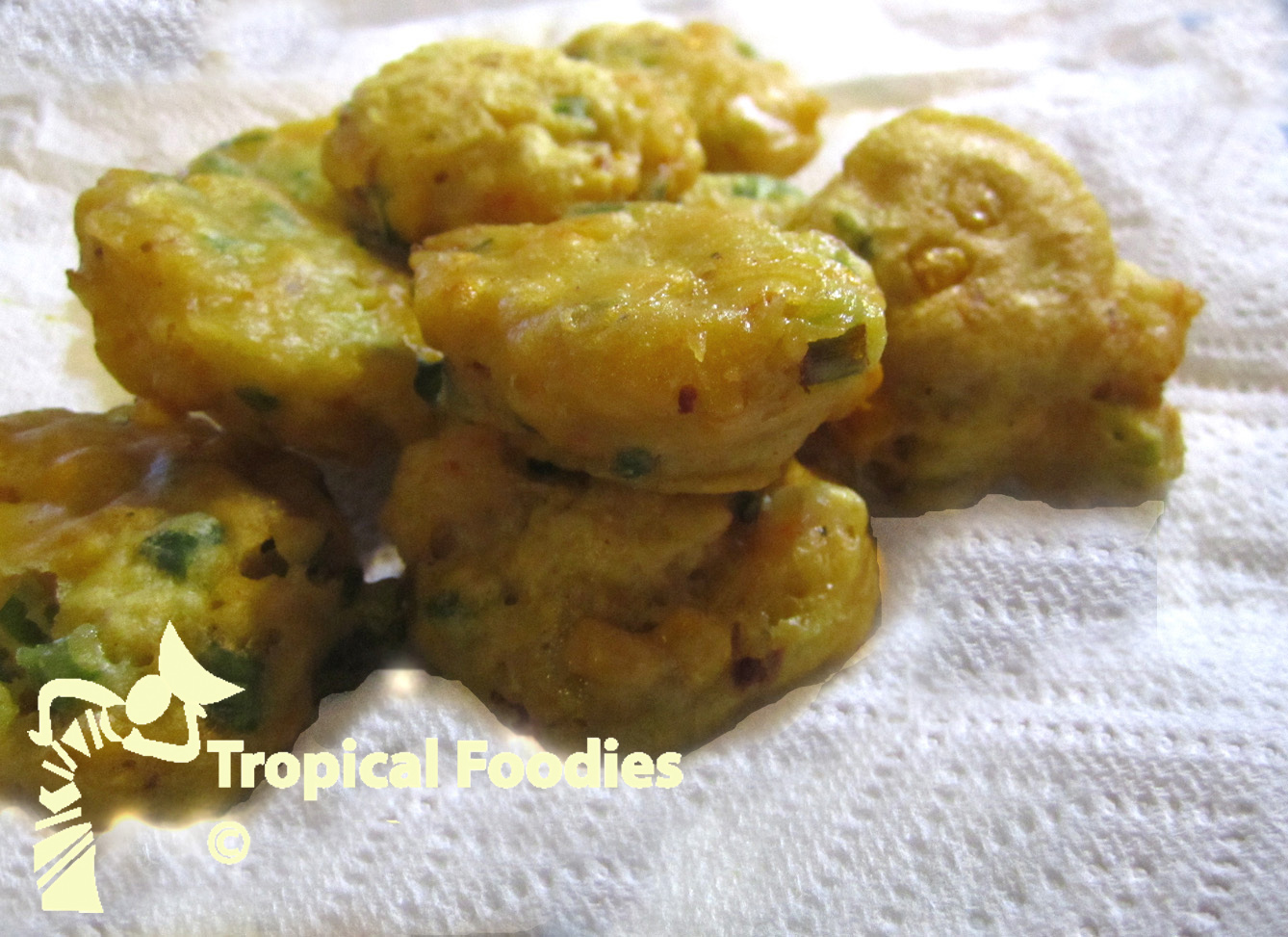 Cucur Udang, Malay prawn fritters, easy and tasty Malay ...