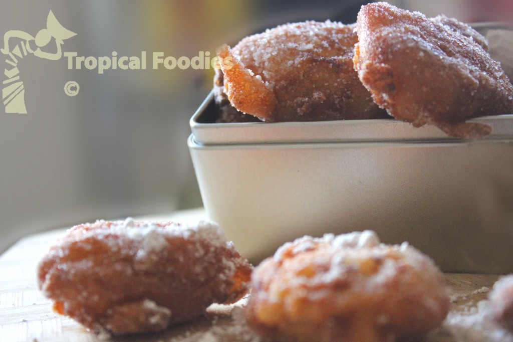 Pineapple beignet