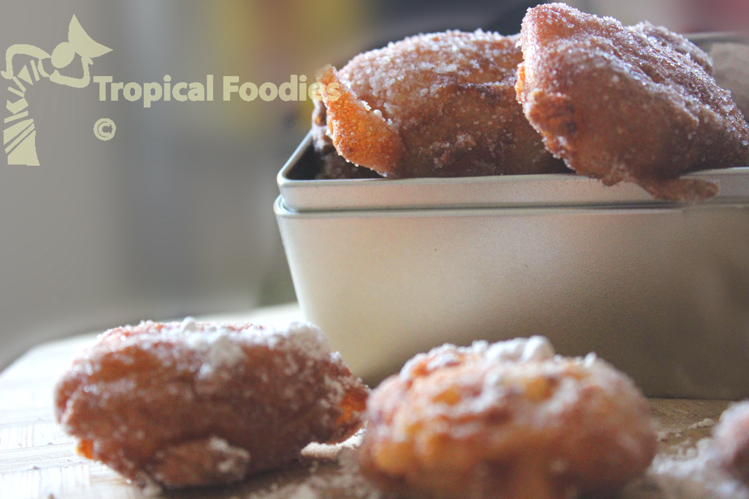 Creole pineapple beignets, beer batter anyone?