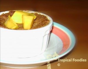 Coconut Crumble, a tropical twist to a Fall favorite