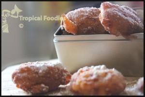 Creole Pineapple Beignets