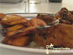Chuletas de Puerco Criollas/ Cuban-Style Pork chops