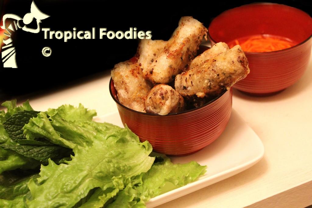 ... spring rolls southern vietnamese spring rolls cha gio recipe sbs food