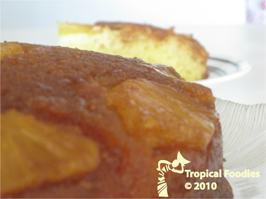 Gateau orange foodies