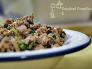 Larb salad, or sophistication made easy