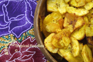 Traditional made new: Masala plantain chips